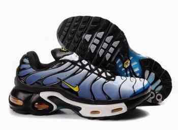 new arrivals 46a93 b32ea Acheter Men Nike Air Max TN noir bleu jaune blanc Limerick sportif  chaussures