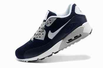 new arrival c3e7b abfee Acheter Men Nike Air Max 90 Prm Em Dragon Soul Navy bleu blanc Limerick  sportif chaussures